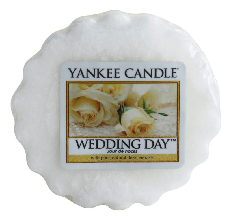 Yankee Candle Wedding Day vosek za aroma lučko  22 g