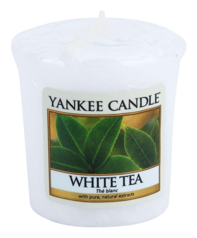 Yankee Candle White Tea votivna sveča 49 g