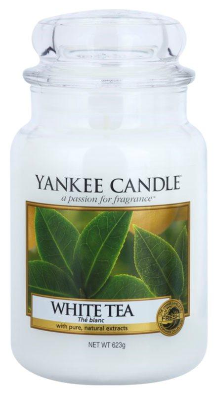 Yankee Candle White Tea Geurkaars 623 gr Classic Large
