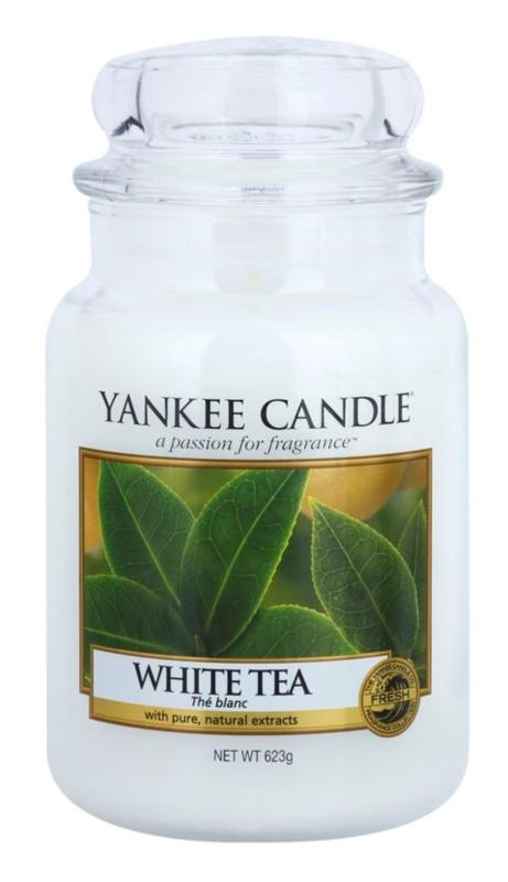 Yankee Candle White Tea vonná svíčka 623 g Classic velká