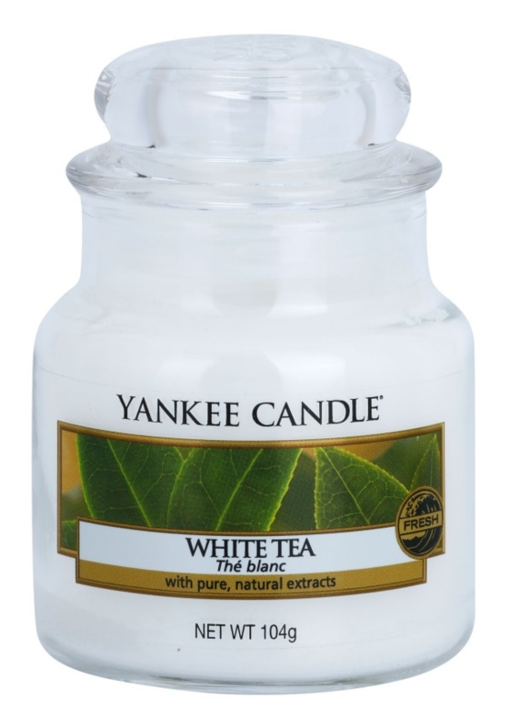 Yankee Candle White Tea Duftkerze  104 g Classic mini