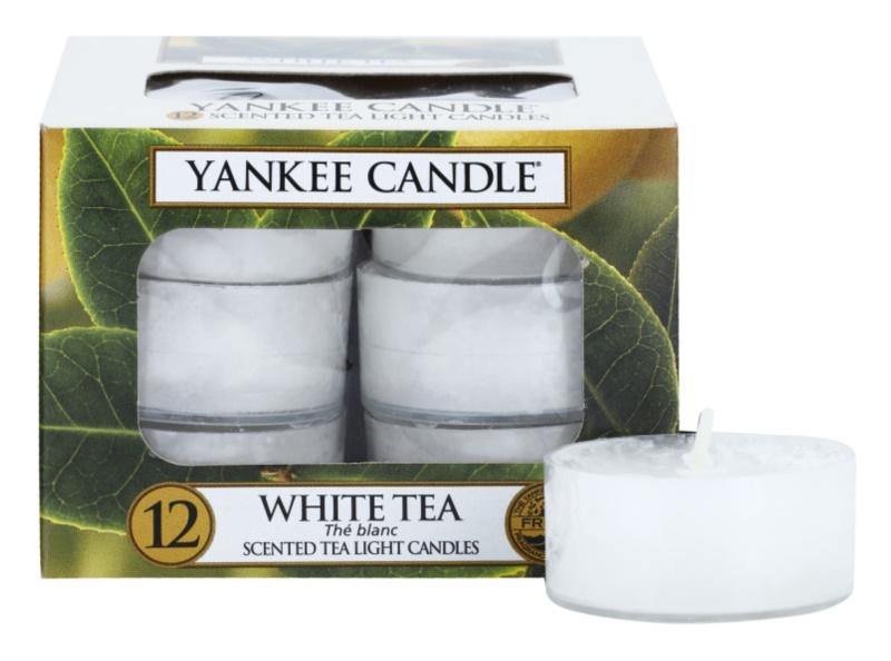 Yankee Candle White Tea Theelichtje  12 x 9,8 gr