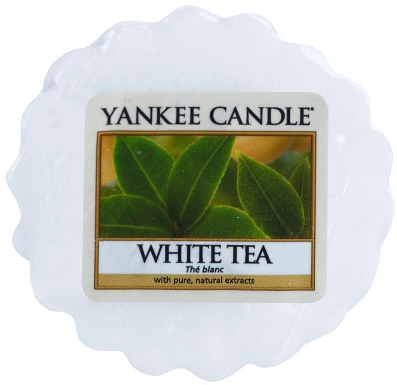 Yankee Candle White Tea ceară pentru aromatizator 22 g