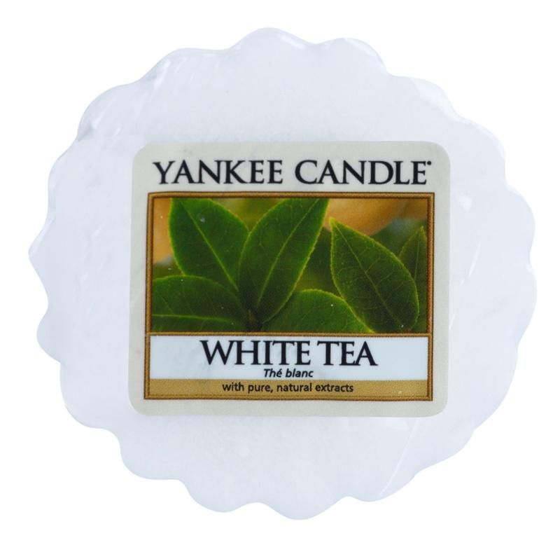 Yankee Candle White Tea Wachs für Aromalampen 22 g