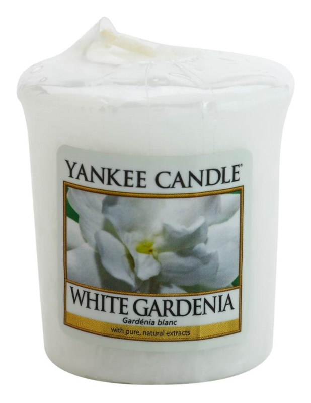 Yankee Candle White Gardenia bougie votive 49 g