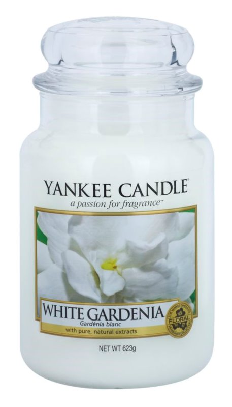 Yankee Candle White Gardenia Scented Candle 623 g Classic Large