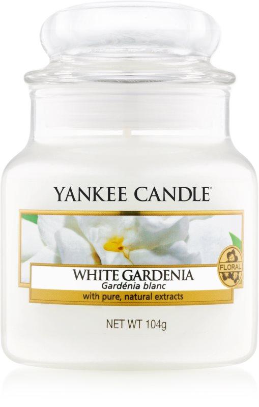 Yankee Candle White Gardenia Scented Candle 104 g Classic Mini