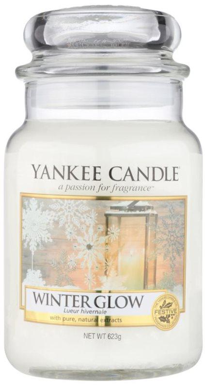 Yankee Candle Winter Glow candela profumata 623 g Classic grande