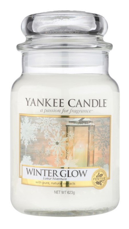 Yankee Candle Winter Glow Scented Candle 623 g Classic Large
