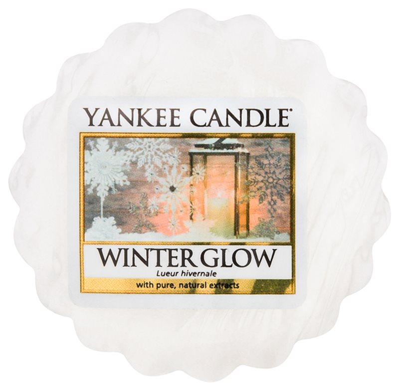 Yankee Candle Winter Glow cera para lámparas aromáticas 22 g