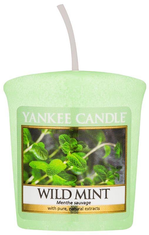 Yankee Candle Wild Mint bougie votive 49 g