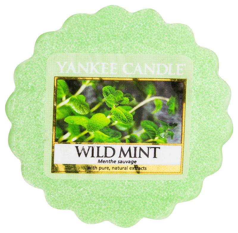 Yankee Candle Wild Mint vosek za aroma lučko  22 g