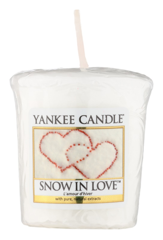 Yankee Candle Snow in Love вотивна свещ 49 гр.