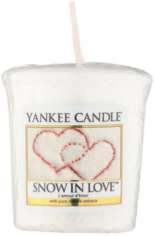 Yankee Candle Snow in Love votívna sviečka 49 g