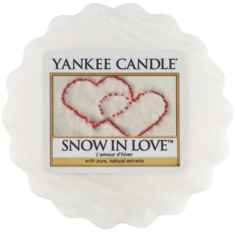 Yankee Candle Snow in Love illatos viasz aromalámpába 22 g