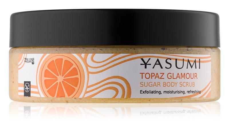 Yasumi Body Care Topaz Glamour zjemňující tělový peeling