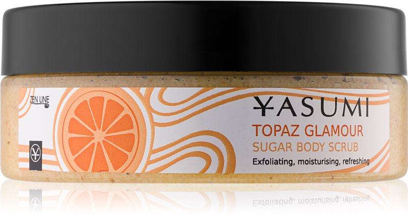 Yasumi Body Care Topaz Glamour zjemňujúci telový peeling