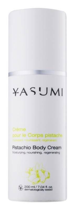 Yasumi Body Care Pistachio Cream hydratačný telový krém