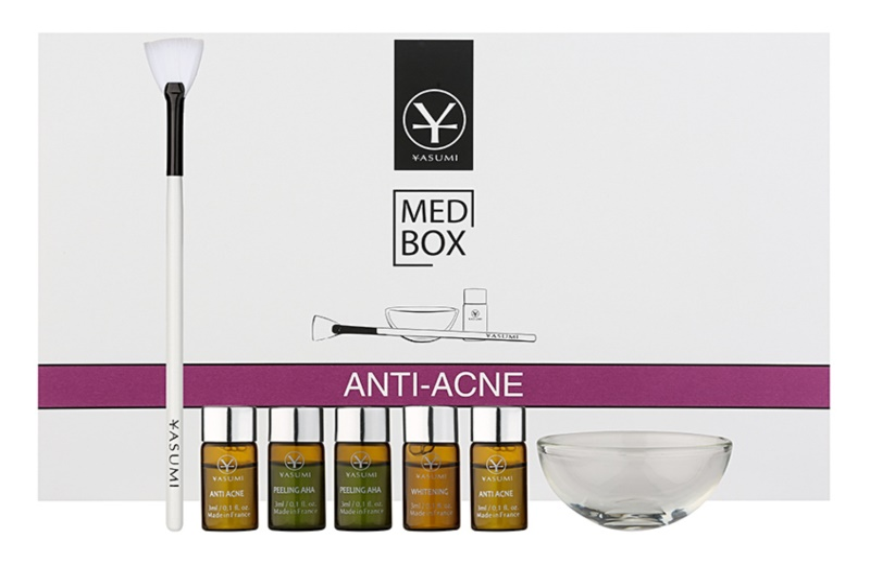 Yasumi Med Box Anti-Acne lote cosmético I.