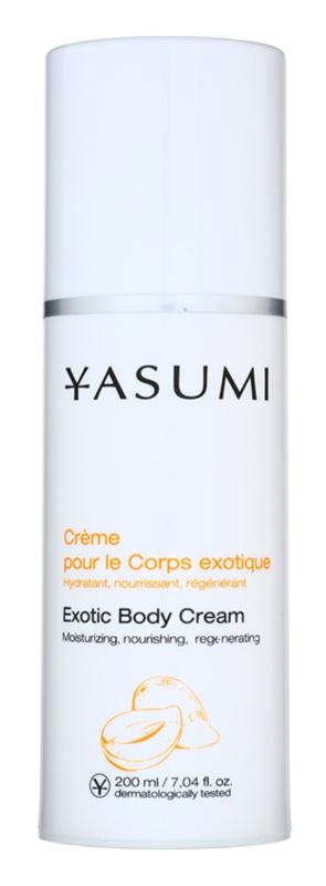 Yasumi Body Care crema regeneratoare si hidratanta pentru toate tipurile de piele