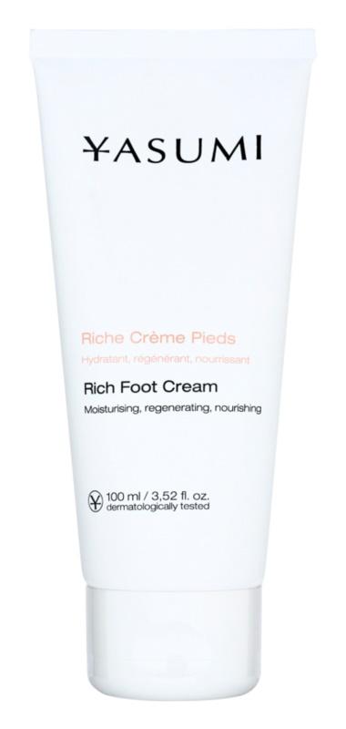 Yasumi Body Care крем для сухої та потрісканої шкіри ніг з поживною ефекту