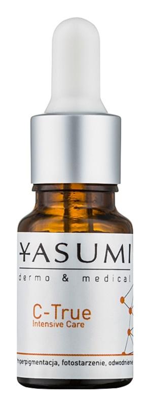Yasumi Dermo&Medical C-True tratamento intensivo para iluminar e alisar pele