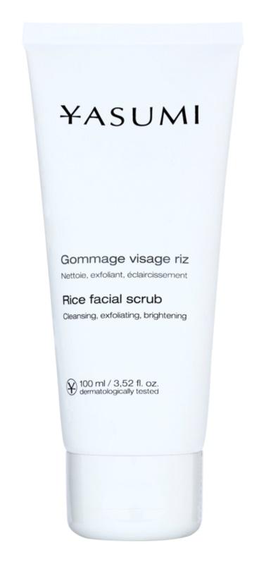 Yasumi Face Care erfrischendes Reinigungspeeling für alle Hauttypen