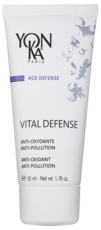 Yon-Ka Age Defense Vital intensive feuchtigkeitsspendende Tagescreme mit Antioxidant-Wirkung