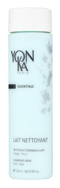 Yon-Ka Essentials čisticí a odličovací mléko na obličej a oči