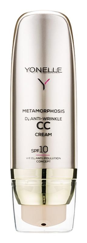 Yonelle Metamorphosis CC krém s protivráskovým účinkom SPF 10