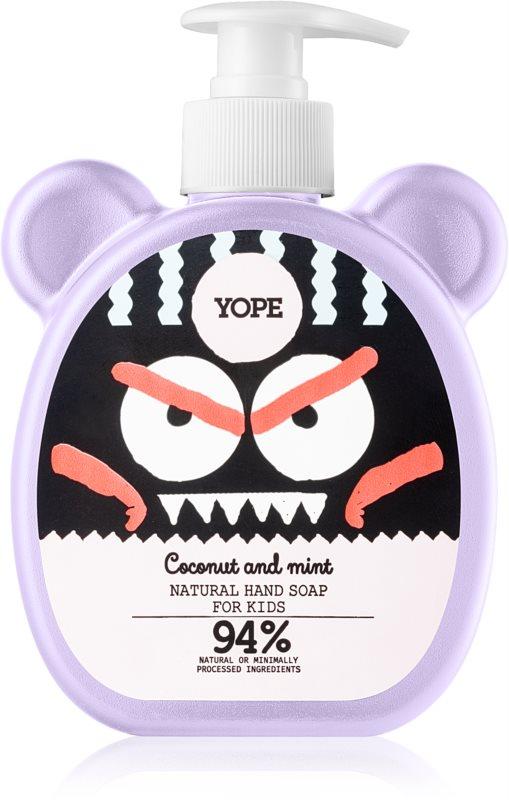 Yope Coconut & Mint Săpun lichid pentru mâini pentru copii