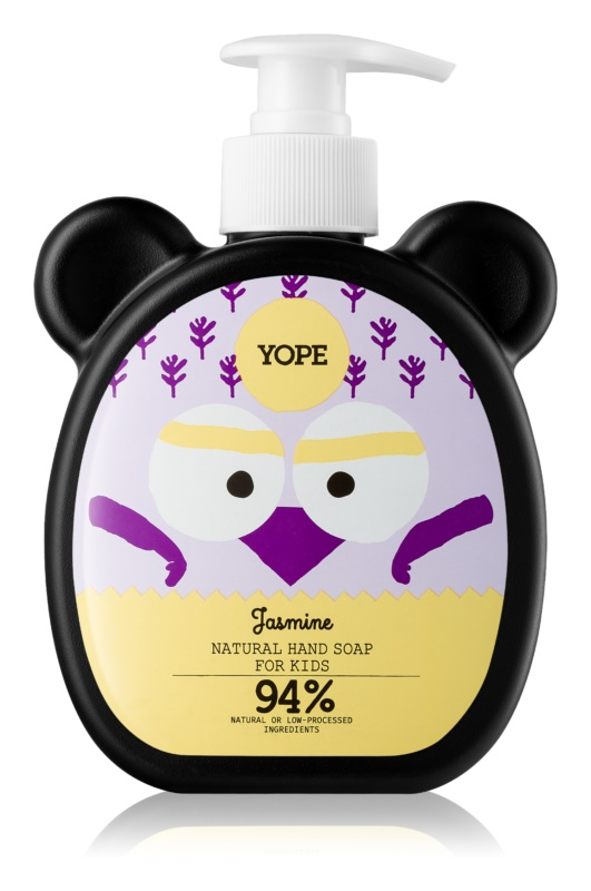Yope Jasmine tekoče milo za roke za otroke
