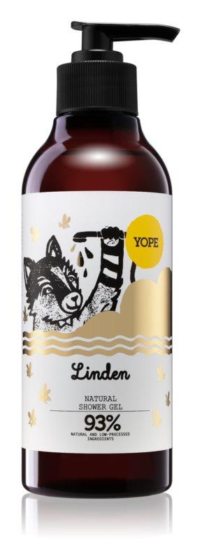 Yope Linden jemný sprchový gel
