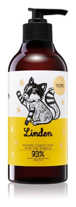 Yope Linden tekuté mýdlo s hydratačním účinkem