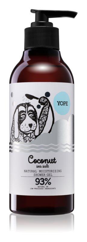 Yope Coconut & Sea Salt naravni gel za prhanje z vlažilnim učinkom