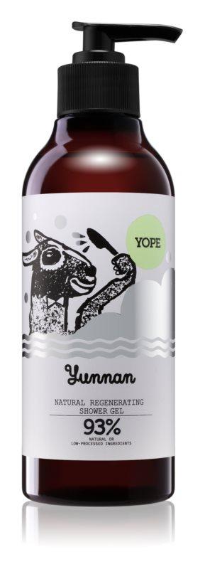 Yope Yunnan натуральний гель для душу з відновлюючим ефектом