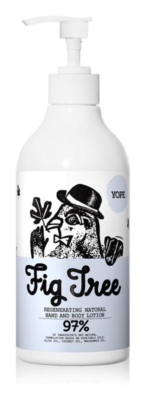 Yope Fig Tree lapte regenerant pentru maini si corp