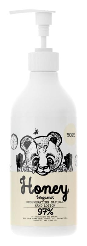 Yope Honey & Bergamot зволожуючий бальзам для рук