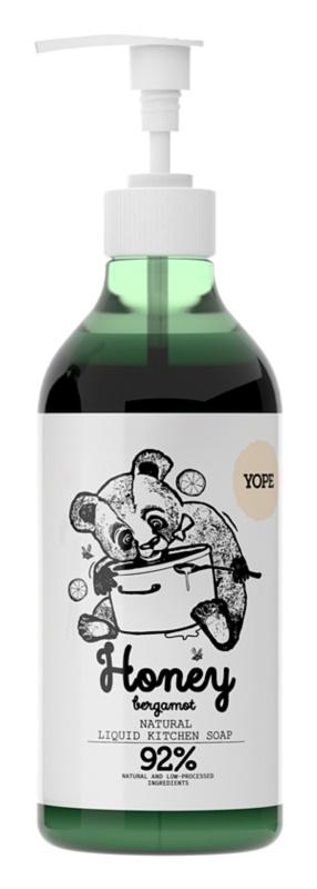Yope Honey & Bergamot Sapun natura pentru bucatarie de maini