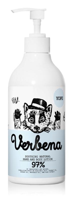 Yope Verbena natürliches Balsam für Hände und Körper