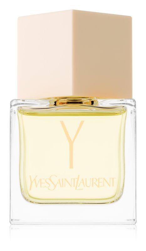 Yves Saint Laurent Y Eau de Toilette para mulheres 80 ml