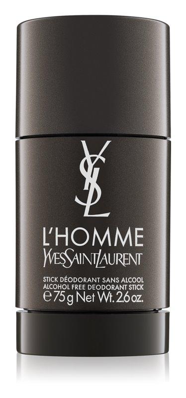 Yves Saint Laurent L'Homme desodorizante em stick para homens 75 g