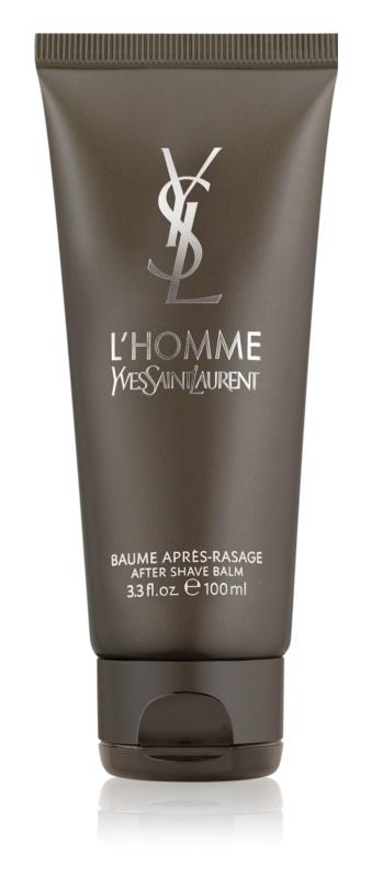 Yves Saint Laurent L'Homme balzám po holení pre mužov 100 ml