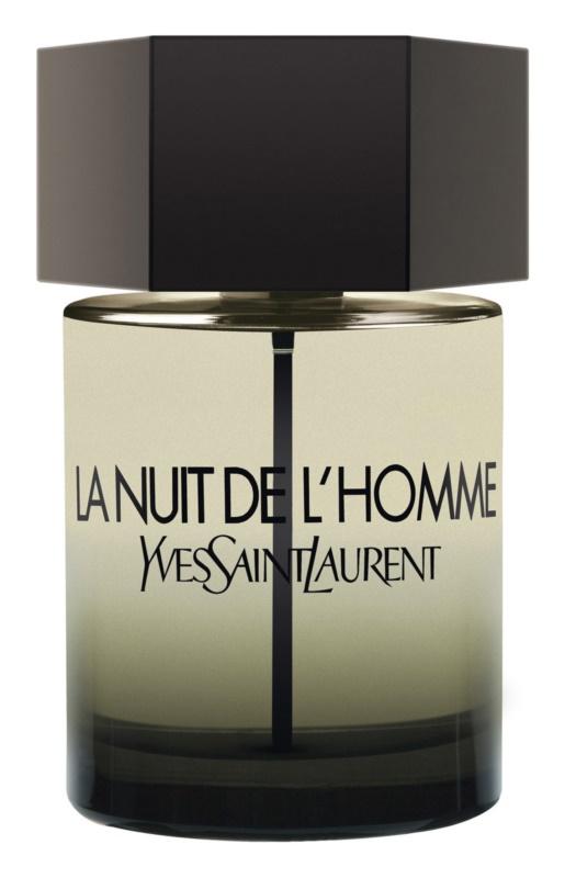 Yves Saint Laurent La Nuit de L'Homme eau de toilette férfiaknak 100 ml