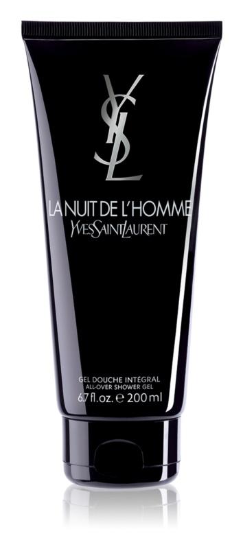 Yves Saint Laurent La Nuit de L'Homme gel de dus pentru barbati 200 ml