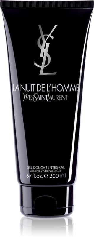 Yves Saint Laurent La Nuit de L'Homme sprchový gel pro muže 200 ml