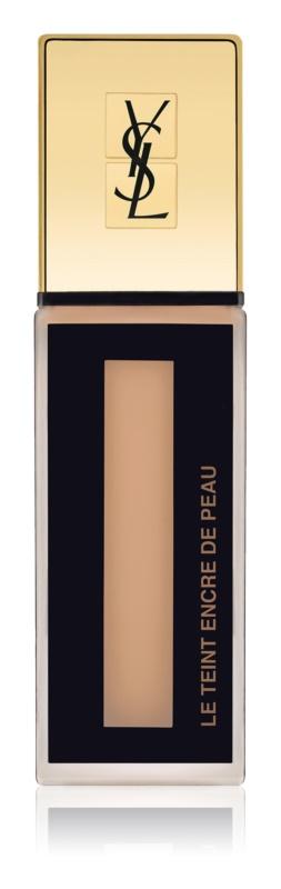 Yves Saint Laurent Le Teint Encre de Peau fond de teint matifiant doux SPF 18
