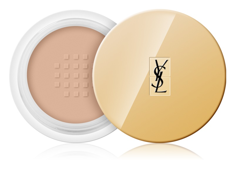 Yves Saint Laurent Souffle d'Éclat Sheer and Radiant прозора пудра  для сяючої шкіри