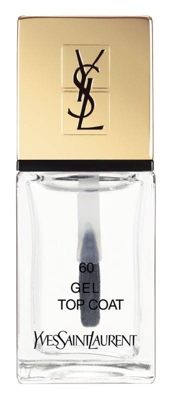 Yves Saint Laurent La Laque Couture vernis top coat gel