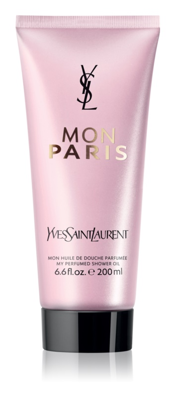 Yves Saint Laurent Mon Paris huile de douche pour femme 200 ml